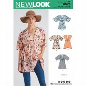 6575 New Look Pattern: Misses' Tunic
